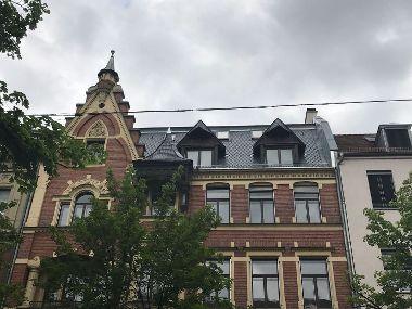 Wohn- und Geschäftshaus in Augsburg mit Naturschiefereindeckung